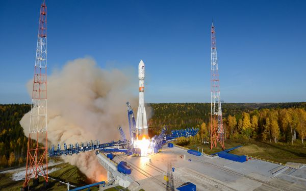 Glavkosmos provided the launch of 15 foreign spacecraft as a rideshare payload
